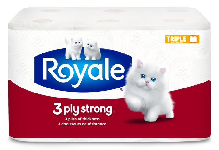 3-Ply Strong, rouleaux triples pack