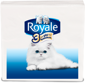Serviettes de table ROYALE® à 3 épaisseurs pack