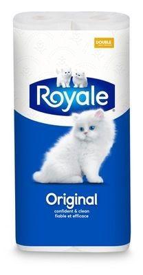 ROYALE® Original, rouleaux doubles