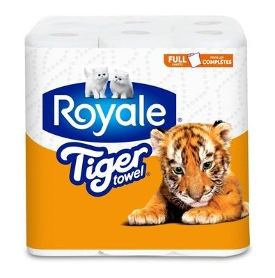 ROYALE® Tiger Towel® Double: Full Sheets