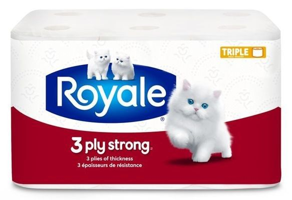 ROYALE® 3‑Ply Strong Triple Bathroom Tissue