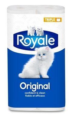ROYALE® Original, rouleaux triples