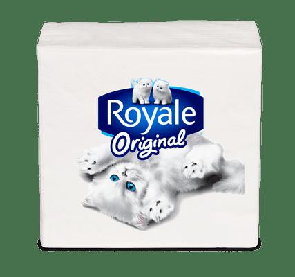 ROYALE® 雙層餐紙巾