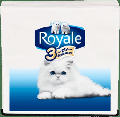 Serviettes de table ROYALE® à 3 épaisseurs