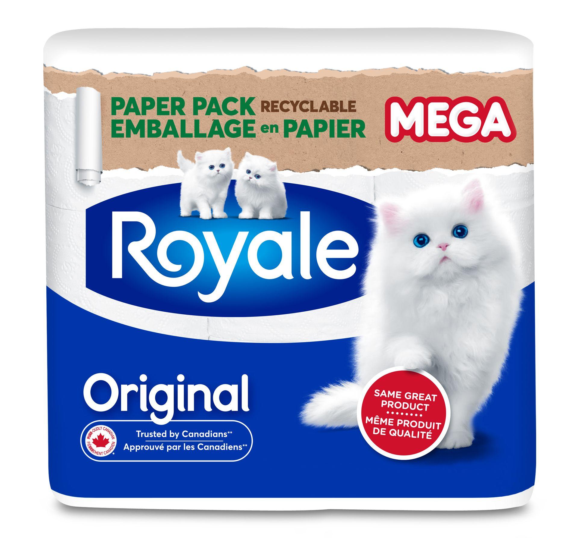Emballage en papier Royale® Original – mega rouleaux